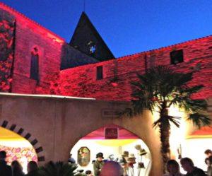 Féérie de la foire de Noël et illuminations de l'Abbaye de Maillezais