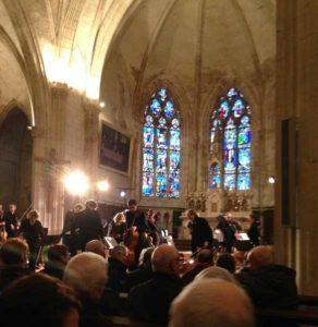 Concert de Noël dans l'église de Mouilleron en Pareds