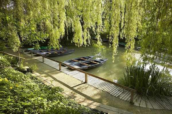 Balade en barque sur la marais poitevin près des chambres d'hotes La Boisnière sud Vendée