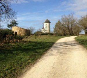 Circuit Vendée vélo sur la colline des moulins à Mouilleron en Pareds