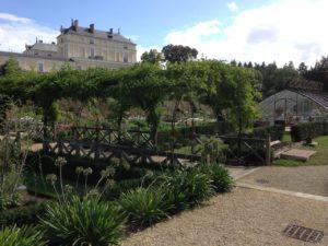 potager et serre château de Maulévrier près chambres d'hôtes La Boisnière Vendée
